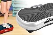 Take Your Fitness Routine to the Next Level w/ a Vibration Platform! Increases Balance & Core Strength. Adjustable Speed Levels, Auto Programs & More
