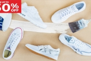Upgrade Your Look to Clean & Classic @ All White Sneaker Shop. Up to 50% Off Collection of Men's, Women's & Kids White Sneakers - Adidas, Nike & More!
