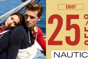 Casual Chic Has Never Looked this Good with the Nautica Mid Season Sale for Men & Women! Enjoy 25% Off Wardrobe Essentials Incl. Tees, Shirts, Pants & More