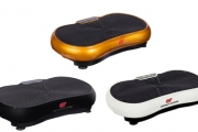 Shake Off Unwanted Pounds with a Powerfit Vibration Fitness Plate + Remote Control! Designed to Increase Metabolism, Improve Range of Motion + More