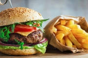 Feast on a Gourmet Burger w/ Chips for 2 People at Restaurant 1903, Northbridge! Ft. Teriyaki Chicken Burger w/ Grilled Boneless Chicken Thigh & More