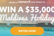Don't Miss Your Chance to Win a Tropical Getaway of a Lifetime! Enter Now to Win an Exclusive Holiday to the Maldives for Five People, Worth $35,000!