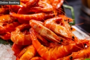 Swim by Sailmaker at Hyatt Regency Sydney for Access to the Award-Winning Signature Seafood Table! Tiger Prawns, Oysters & More. Darling Harbour Views