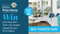 Hurry! Buy Your Ticket in the Mater Prize Home Lottery for Your Chance to Win a Luxury Inner-City Lifestyle Home Worth $1.8 Million!