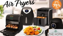 Whip Up Tasty Meals Sans the Guilt with Up to 75% Off Air Fryers! Shop a Range of Air Fryers from Kitchen Couture, Healthy Choice, Kambrook & More