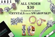 Look Like a Million Dollars without the Big Price Tag w/ the Under $30 Accessory Sale Ft. Crystals From Swarovski®! Earrings, Charm Bracelets & More