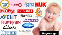 Keep Your Baby Happy, Safe & Healthy w/ the Big Brand Baby Essentials! Shop Baby Carriers, Activity Gyms, Pacifiers, Diaper Bags & More