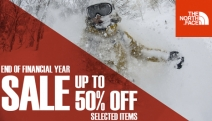 Take On the Outdoors w/ The North Face EOFY Sale! Jackets, Fleeces, Backpacks, Footwear & More. Use Code TNFEXTRA5 for Further 5% Off. Free Delivery