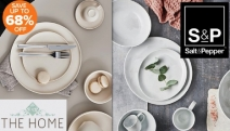 Host Your Next Dinner Party in Style w/ the Salt & Pepper Kitchen + Tableware Sale! Ft. Up to 68% Off Platters, Teacups & Saucers + More