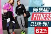 Work Towards Your Fitness Goals w/ the Big Brand Fitness Clear-Out Sale! Shop Up to 62% Off Adidas, ASICS, Nike & More. Sweatpants, Shoes & More