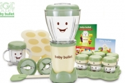 Fuss Free Baby Food Prep Made Easy w/ the Original Magic Bullet Baby Bullet! Incl. Bullet Blender, Nutritional Guide, Storage System Set & More