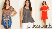 Step Out in Style with the Women's Apparel Sale at Crossroads! Shop On-Trend Workwear & Casual Chic Weekend Wear! Dresses, Blouses, Camis & More
