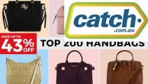 Add the Designer Touch without the Big Price Tag with Up to 43% Off these Top 200 Handbags! Be Treated to Accessories from Tony Bianco, Kate Spade & More