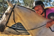 Giddy Up w/ a 1-Hour Group Riding Lesson from $35 at Hawkesbury Valley Equestrian Centre! Suitable for All Levels of Experience in Stunning Yarramundi