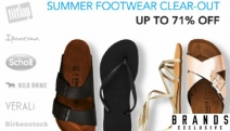 Hurry! Don't Miss this End of Summer Footwear Clear-Out Sale! Shop Flip Flops, Thongs, Sandals & More from Havaianas, Birkenstock, Crocs and More