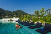 PHUKET 8-Night Tropical Bliss at Journey Hub Hotel Phuket! Prime Patong Location. Deluxe Room for 2 w/ Dining Experiences, Daily Cocktails & More