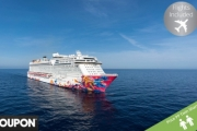 SINGAPORE w/ FLIGHTS 6N Cruise on a Genting Dream Ship + a 1N Stay in Studio Loft @ 4* Studio M Hotel. Cruise Incl. Meals on 4 Restaurants & More