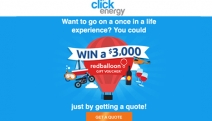 Avoid a Costly Energy Bill this Winter with an Instant Energy Quote from Click Energy! Plus, Go into the Draw to Win a $3,000 RedBalloon Gift Voucher!
