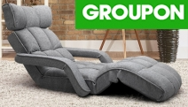 Relaxation & Comfort Made Easy w/ a Foldable & Portable Sofa Lounge. Available in 4 Designs that Adjust to Flat or Sitting Positions! Easy to Store