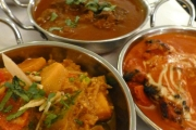 Dull Dinner? Spice Things Up w/ a 6-Course Indian Banquet w/ Wine for Two! Indulge with Crispy Samosas, Chicken Tikka, Beef Madras, Naan, Rice & More