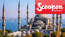 TURKEY w/ FLIGHTS See the Treasures of Turkey on a Wondrous 9D Tour Ft. Istanbul & Gallipoli. Incl. Daily Meals, Deluxe Accom, Scenic Cruise & More