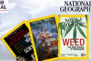 Read Up On the Wonders of the Earth & Human Culture with National Geographic Magazine! Get a 1-Year Subscription Plus a Free World Map