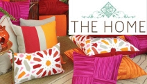 Add That Finishing Touch to Your Home w/ Cushions & Throws in the Season's Hottest Tones & Textures! Dip-dye, Aztec, Jacquard & More