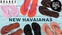 No Spring Wardrobe is Complete without a Fresh Pair of Havaianas! Save Up to 60% Off the Range of Classic & On-Trend Colours & Styles