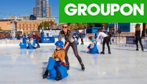 Get Your Skates On w/ a Skate Rink Entry + Skate Hire @ Skatingat Festival! Opt w/ a Slide Pass. Cool Activity for the Whole Fam. King George Square