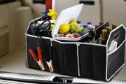 Keep the Car Clean & Tidy w/ a Collapsible Car Boot Organiser! Incl. a Thermal Compartment, Perfect for Keeping Drinks Cool for Road Trips & Picnics