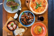 Settle in for Sensational Waterfront Dining at Baia the Italian! Get $60 to Spend on Food & Drinks for $29! 350g N.Y. Sirloin & More. Cockle Bay Wharf