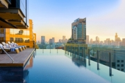 BANGKOK 3-Night Stay in the City's Trendiest Rooftop Hotel, Indigo! Enjoy Daily Brekkie, 2 Hours of Unlimited Nightly Cocktails, Infinity Pool & More