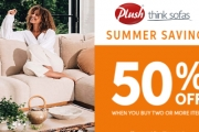 Create Your Perfect Sofa with Plush Summer Savings! Shop Range of Handcrafted Sofas to Suit Your Space & Get 50% Off When You Buy 2 or More