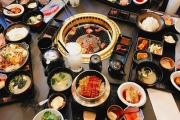 Feast on All-You-Can-Eat Japanese BBQ Lunch Buffet with Drinks at Kobe Wagyu BBQ! Ft. Sushi & Sashimi, Beef Tongue, Short Ribs, Scallops & More
