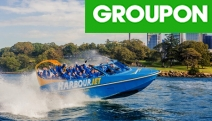 Get Set for a Thrilling Adventure on Sydney Harbour w/ a 30-Min Harbour Jet Boat Ride! Zoom Past Famous Landmarks as the Boat Spins, Twists & More
