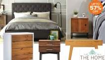 Invest in Quality Pieces for Your Space w/ the Bedroom Furniture Refresh Sale! Shop the Casa Acacia Wood Beside, Istyle Amanda Queen Bed Frame & More