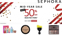 Gals Shop All Your Faves w/ the Sephora Mid-Year Sale! Indulge in Up to 50% Off Select Items*! Use Code: SALE50. BECCA, Sephora Collection & More