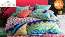 Embrace Colour w/ the Summer Bedroom Refresh Sale! Shop Up to 65% Off a Range of Vibrant & Colourful Bedding from Bambury, KAS, Linen House & More
