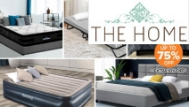 Treat Yourself to a Good Night Sleep with Up to 75% Off Bedroom Furniture & Air Beds! Shop Bestway Queen Air Bed, 3-Pc Quilt Set, Folding Bed & More