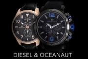 The Time Has Come to Update Your Watch! Shop the Range of Quality Diesel & Oceanaut Timepieces for Him & Her at Great Prices - Plus P&H