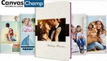Treasure Special Moments with a Personalised Photo Book from Canvas Champ! Design Your Own Photo Book and Save Up to 60% Off with Code NEWPHOTOBOOK