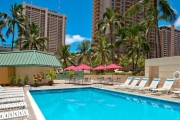 HAWAII w/ FLIGHTS Enjoy World-Famous Waikiki Beach with 7 Nights at Ramada Plaza, Waikiki! City View Room Close to the Heart of Waikiki