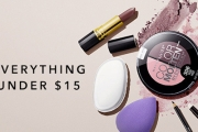 Primp Yourself from Top to Toe w/ the Beauty Products Sale - All Under $15! Shop Cosmetics, Nail File, Make-up Brushes, Make-Up Removers & More