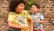 Dress Up Your Kids in Stylish & Comfy Fashion from Marks & Spencer! Shop 3 for 2 Kids' Clothing w/ Unisex Joggers, Cotton Dresses, Tops & More