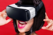 Explore a Whole New World of Entertainment w/ the Samsung Gear VR, Powered by Oculus! Crystal Clear Display, Compatible w/ Selected Samsung Phones