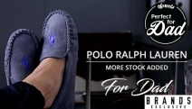 Treat Your Dad to the Gift of Style & Comfort w/ a Pair of Men's Polo Ralph Lauren Slippers! Shop a Range of Classic Styles & Colours. Plus P&H