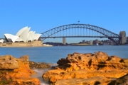 Enjoy a Half-Day Island Explorer Cruise on Darling Harbour w/ Sydney Event Cruises! See the Opera House, Cockatoo Island & More. Opt w/ Food & Drinks