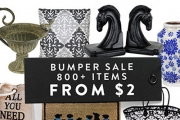 Add That Finishing Touch to Your Home w/ the Bumper Decorative Updates Clearance Sale! Shop the Huge Range of Mirrors, Stools, Cushions & More