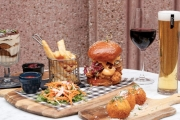 Transport Your Taste Buds to New York for a 3-Course New York-Inspired Lunch w/ Wine for 2 @ York Trading & Co! Enjoy Arancini, Burger & Chips & More