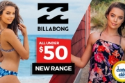 Look Chic on the Beach with the Billabong Women's Swimwear & Apparel Sale! Get Your Go-To Swimmers, Ft. Comfy & Innovative Styles!